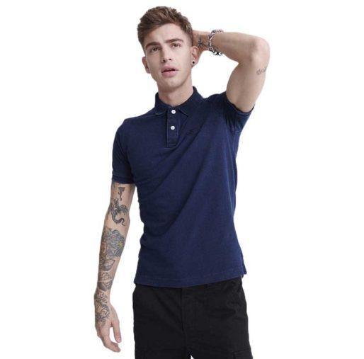 Men's SuperDry Classic Pique Short Sleeve