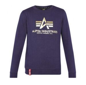 Alpha Industries Basic Logo Top